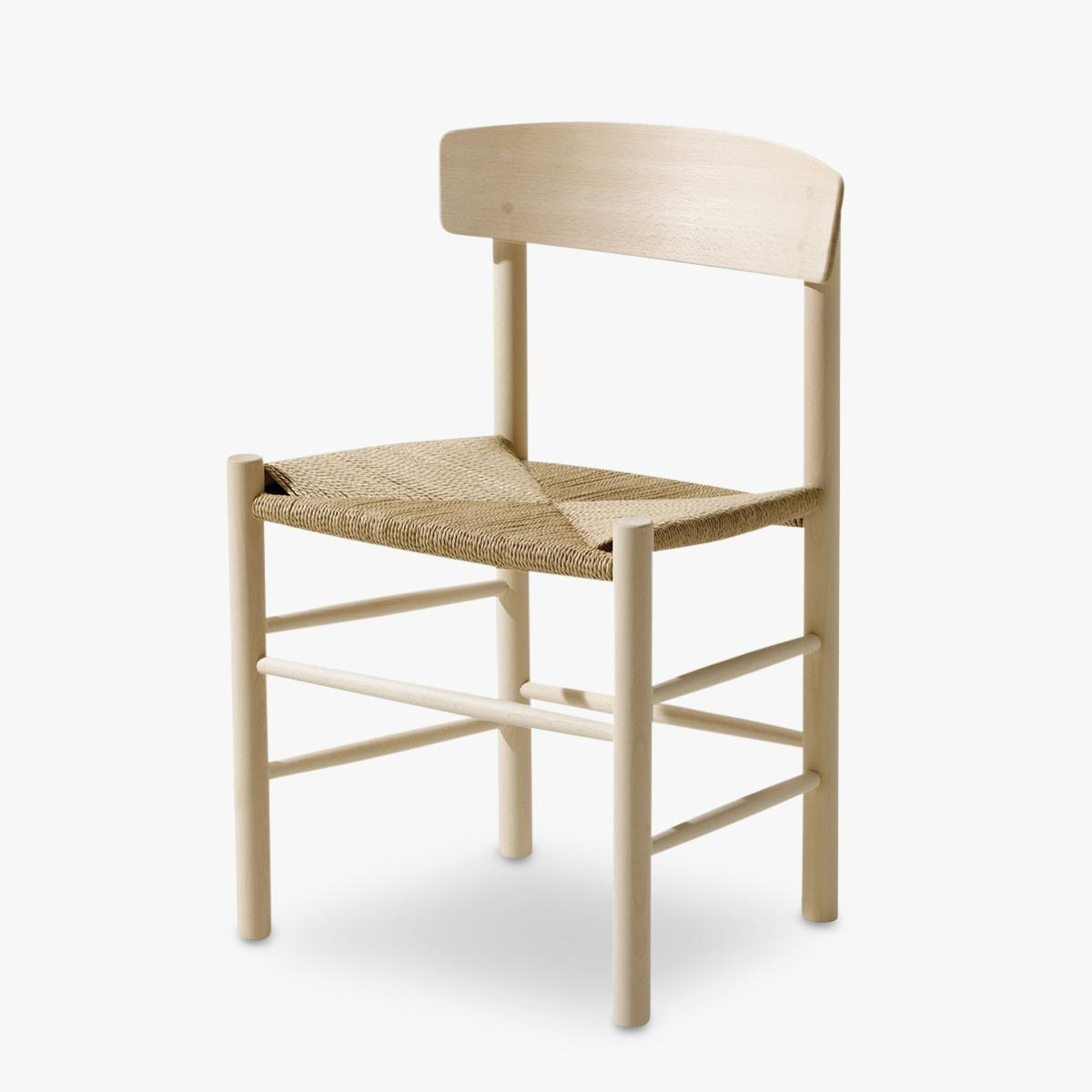 J39-Chair-Natural-Paper-Black-Side-Front