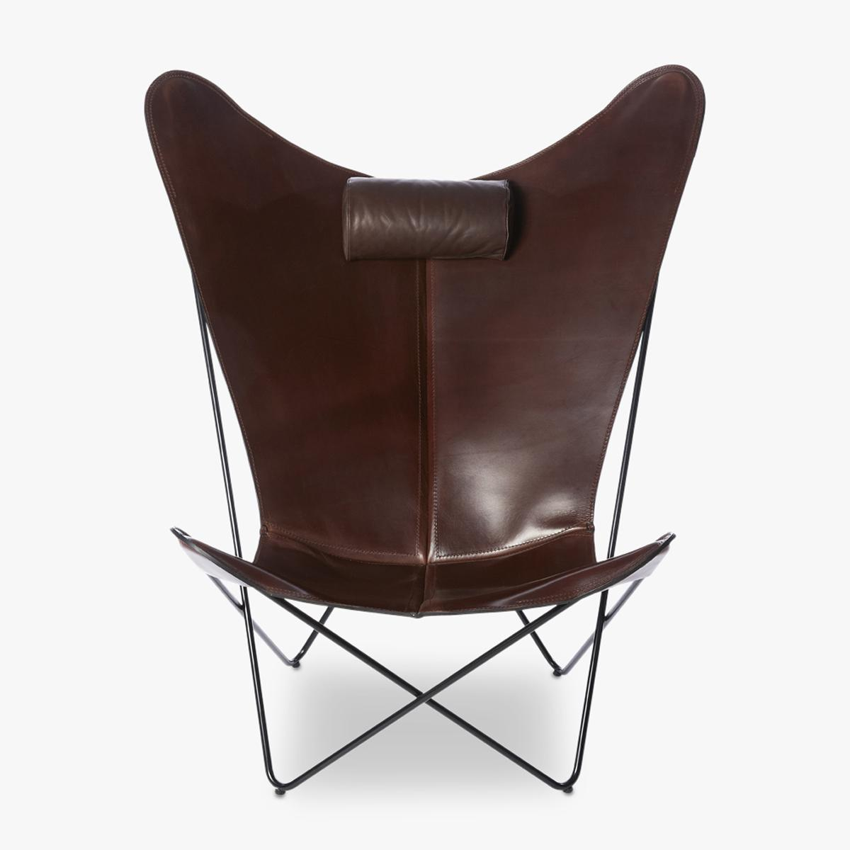 KS-Chair-Black-Frame-Cognac-Front-1200