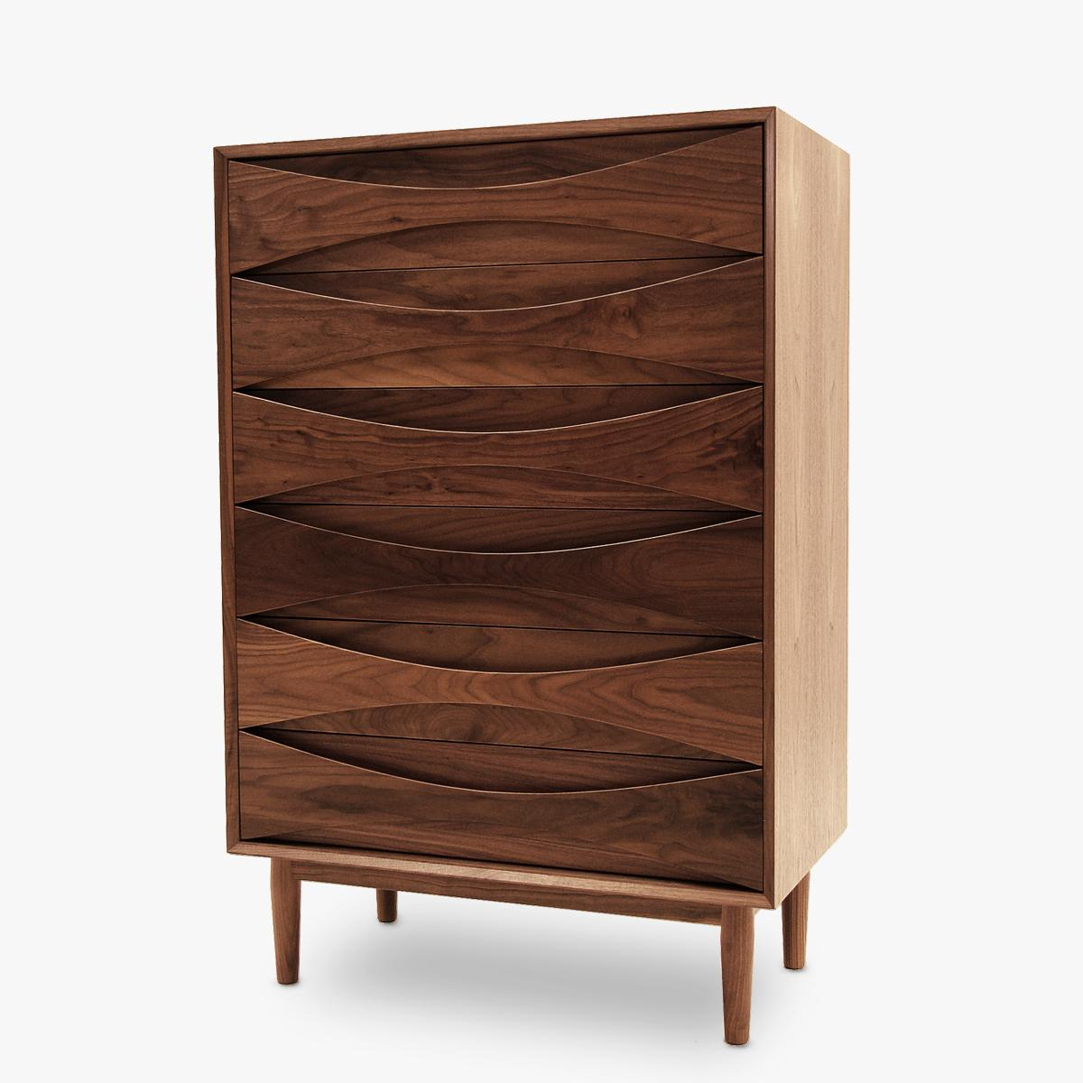 Vodder-Tallboy-Walnut-Front-Side-2-1200
