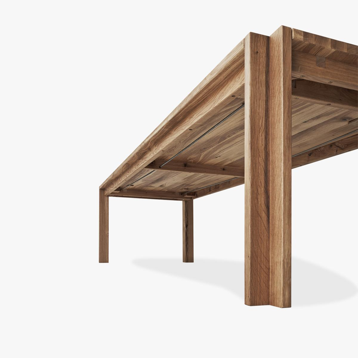 Jeppe Utzon Table_from under_oak-1200