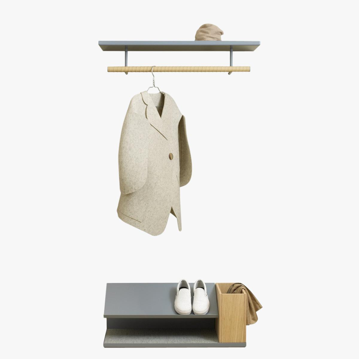 Belle Coat Rack Styled LR-1200