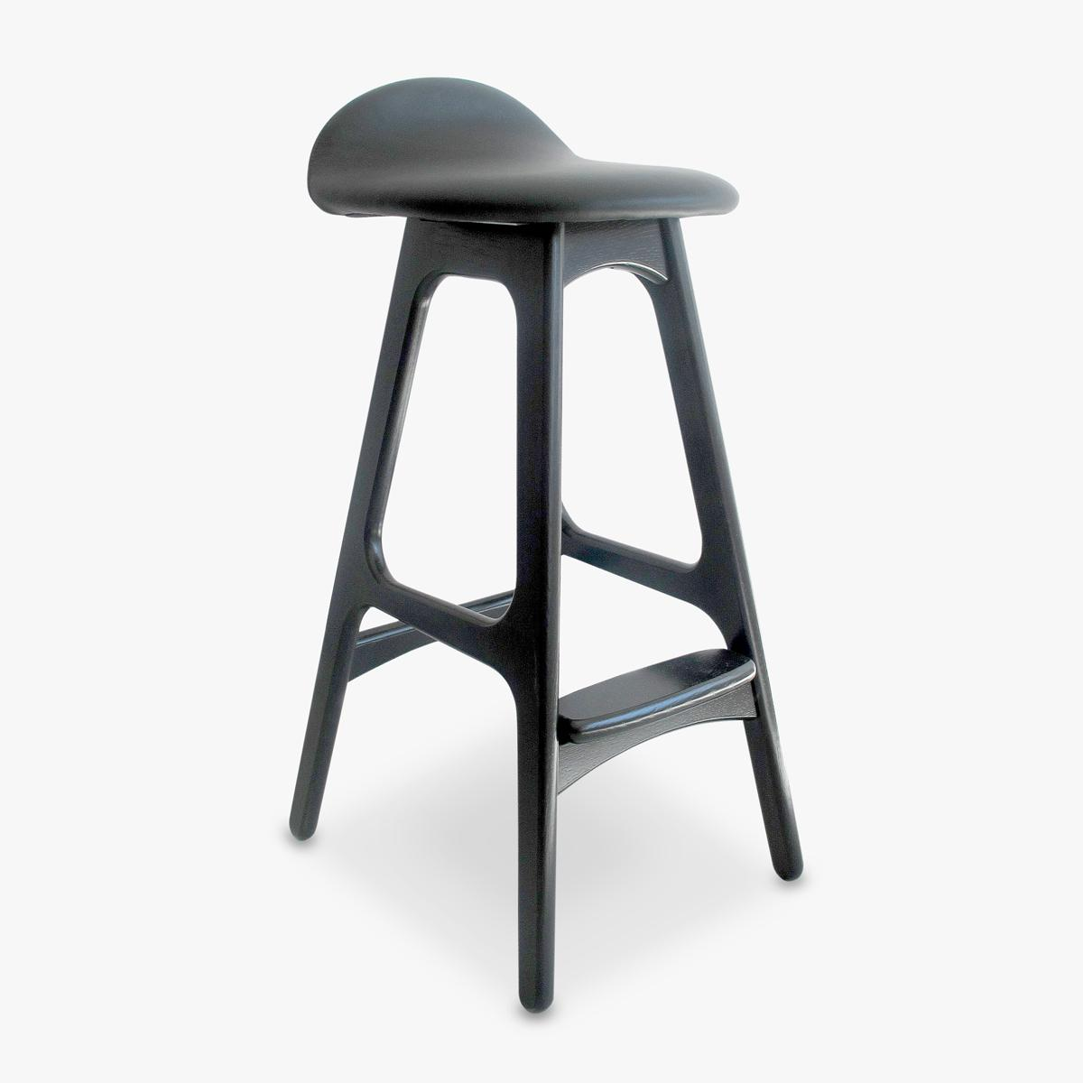 Erik Buch Stool Stained Black Great Dane Contract