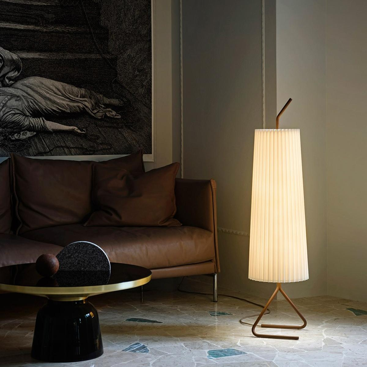 barrel crate lamp and lights melrose floor reviews brass light