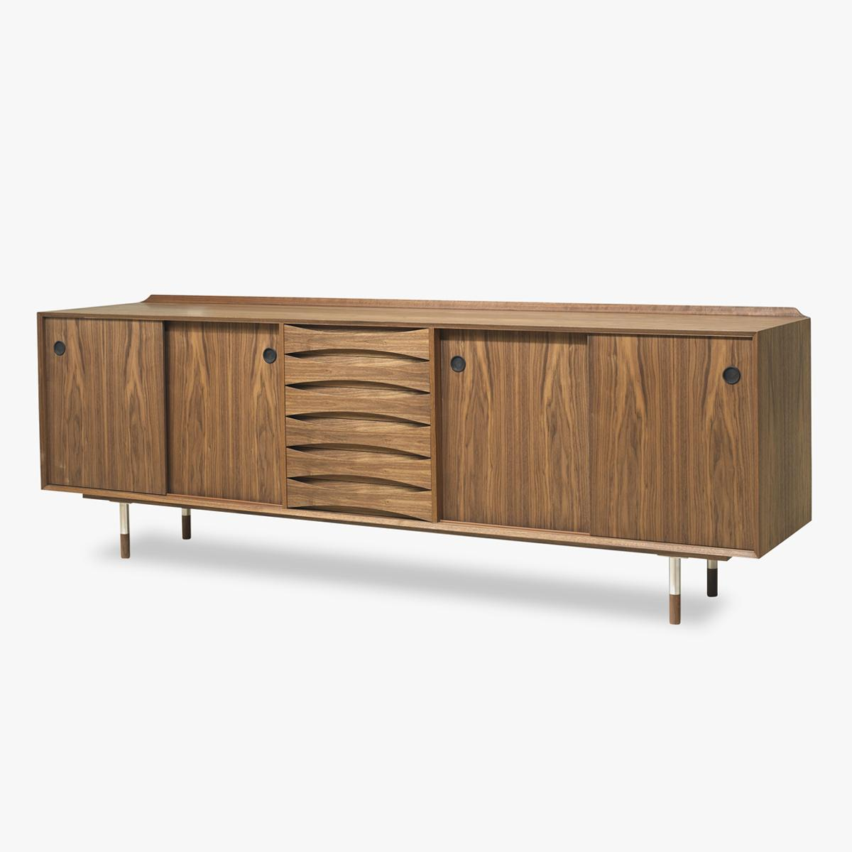 Sideboard AV11 Walnut Side