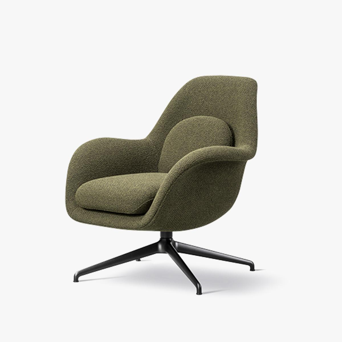 Swoon Lounge Petit Swivel Chair Great Dane Contract