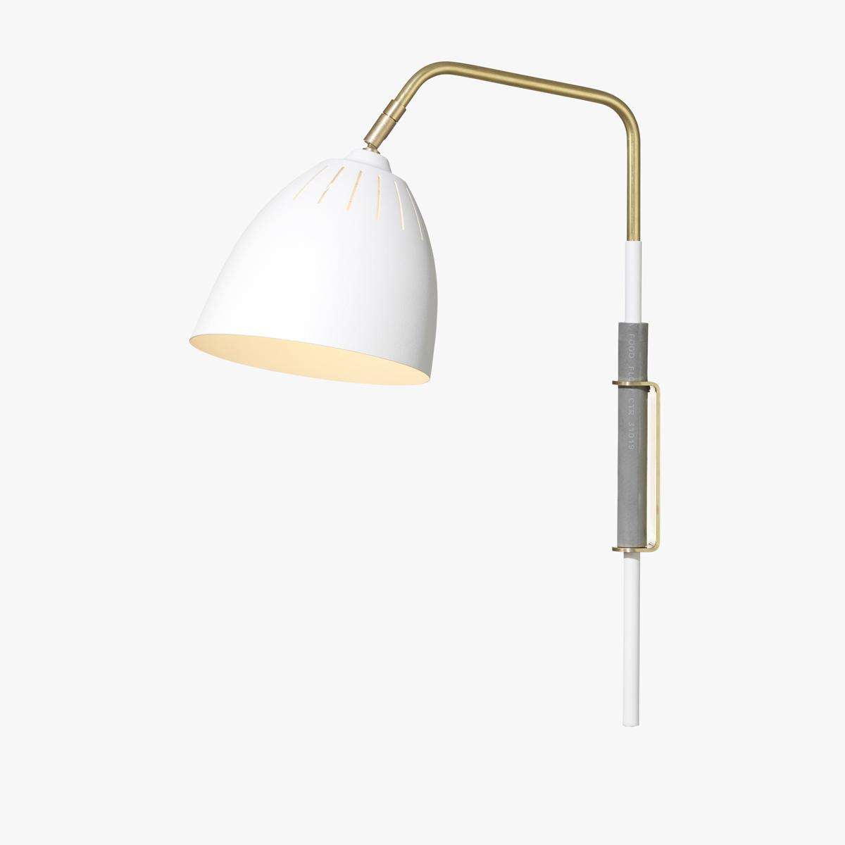 Lean Wall Light White-1200